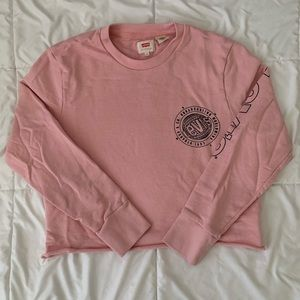 Levis Cropped Sweater